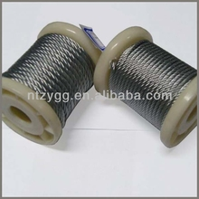 galvanized steel messenger cable, Industry used steel wire rope