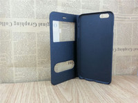 With Double Caller ID Display View Window Flip Leather Case for Nokia Lumia 930