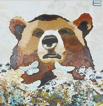 Factory wholesale personal design printing canvas , brand animals canvas paintings