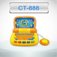 Early educational learning machine toy kids toy laptop kids computer