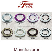 JC08 Series plastic curtain eyelet window accessories