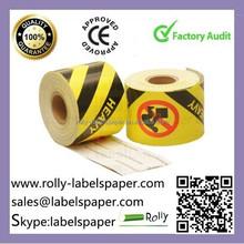 paper label,print adhesive custom fragile sticker roll