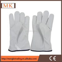 China factory supply soft leather driver glove