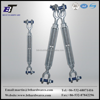 Rigging screws US type construction small size turnbuckles with jaw and jaw