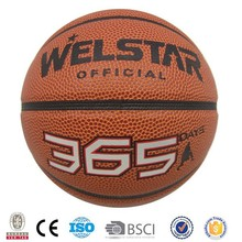 High Quality Grip Control Official Size 7 PU PVC Big Point Basketball Balls