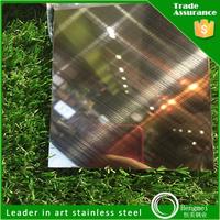 hairline finish elevator stainless steel decorative sheet