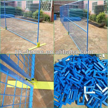 Blue Colour 6ft Removable Canada Temporary Fencing Panels