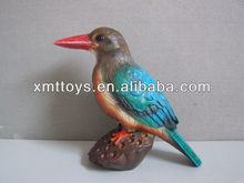 2013 new custom decorative resin birds,resin bird figurine