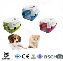 2015 plastic pet carrier transport box for cats portable dog carrier