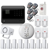 2015 factory new GSM WIFI alarm system and GPRS home security is based on Internet Technology support IP camera