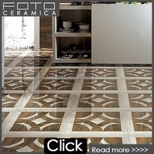 Brand porcelain wood marble decoration border tile