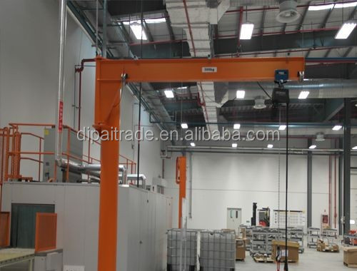 Jib Crane Maintenance : High quality less maintenance jib crane mounted floor