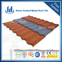 Nigeria Hot Sale Villa stone coated steel roofing tile/roofing sheet
