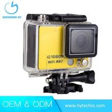Mini waterproof helmet camera1080p hd camcorder with night vision