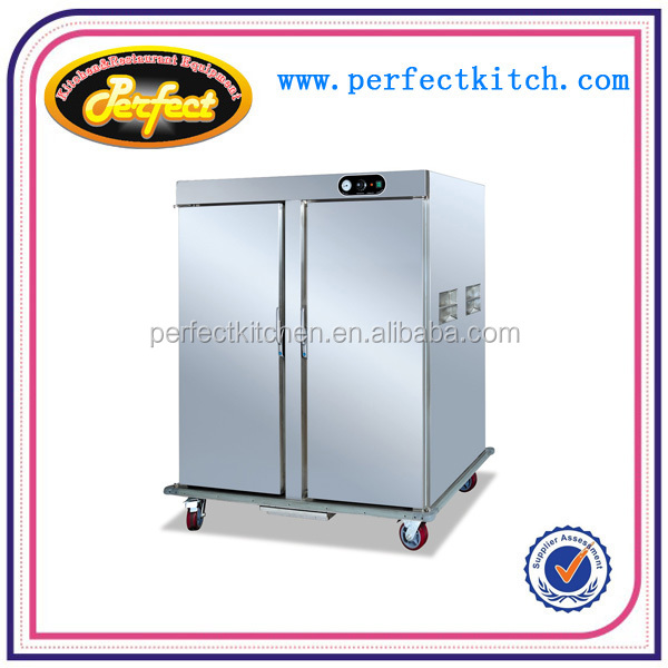 Mobile Food Warmers ~ Mobile food warmer cabinet double door layer for