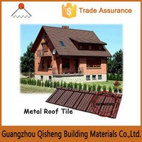 Nigeria Hot Sale Villa natural high quality sand coated roof tile/Stone coated roof tile/Metal insulated aluminum roof panel