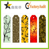 2015 Top Quality Colorful Tag Paper Printed color hang tag for gardening tool