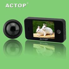 digital door viewer camera for home