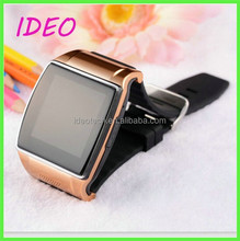 Health Silicon Watch Band Camera Bluetooth/GPS/WIFI 3G GSM Waterproof Android Smart Watch Phone