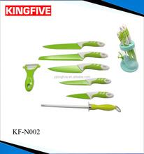 7 pcs as seen TV swiss color knife