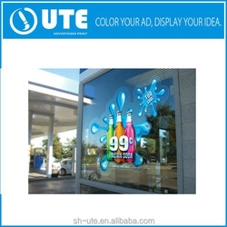 Custom Die Cut Vinl Sticker / Window Static Window Cling Decals