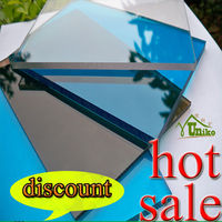 high quality low price waterproof polycarbonate greenhouse panels polycarbonate solid sheet