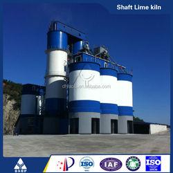 calcinate kiln cement lime production line Vertical Lime Kiln lime production line