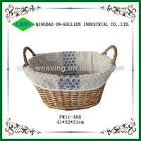 Wholesale wicker large oval basket