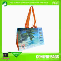 customized design rpet handle bags
