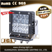 6 inch 60W led offroad lights 2015 New arrival, used for suv atv led work driving lights car led