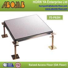 60x60cm HPL tile anti dust/anti static/fireproof/raised floor/access floor for computer room tiles