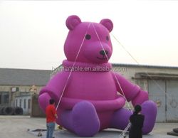 2015 Hot sale giant inflatable gummy bear, inflatable bear for advertising