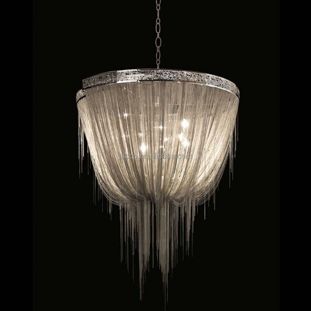 Modern italian decorative lighting chain chandelier light buy italian modern chandelier lights - Can light chandelier ...