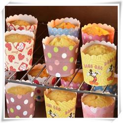 Big size 10,000Pcs Baking Cups Cute Dots Solid Color