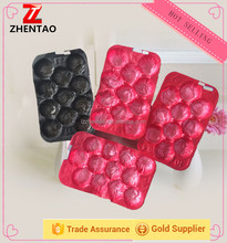 soft thin disposable plastic serving divided pp fruit tray