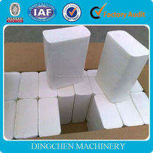 2400mm crescent former machine, toilet tissue paper making machinery, raw material: waste paper in competitive price