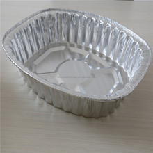 Lagre szie with low price big size turkey cooking aluminum foil tray