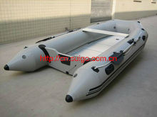 Inflatable Good Quality motor boat/Hypalon or PVC material