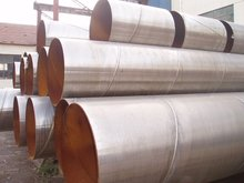 API 5L Spiral Welded steel pipe for Water, Gas and Oil Transport