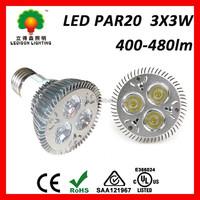 Cool white Dimmable UL listed par 20 E27 led spot light bulb