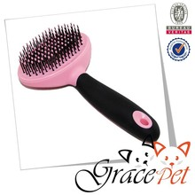 Grace Pet round head soft pin slicker dog brush
