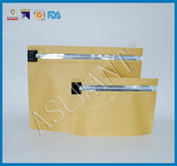 custom made plastic clear tobacco pipe bag use packing cigarettes/stand up zipper bag child proof