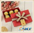 Caixa de presente de chocolate retangular fantasia