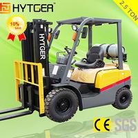 2.5 Ton Competititve Price LPG Forklift Truck Forklift Scale Models