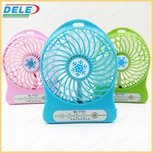 new usb mini fan camping battery rechargeable