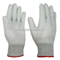 PU Coated Safety Glove white PU glove