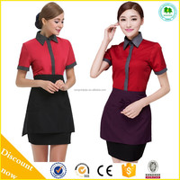 Wholesale Hotel receptionist uniforms / Uniforms for hotel receptionist / Western hotel supply uniforms with good quality