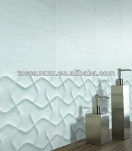 300*600 white marble bathroom Italy design price wall tile ceramic