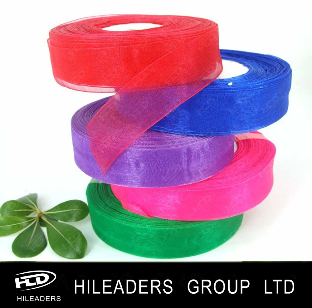 sheer organza ribbon (253)