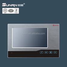 code type 7 inch handsfree monitors video door phone for building and villa system